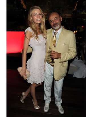 christian louboutin and blake lively