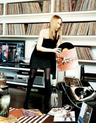 frida giannini and her 7000 plus record collection