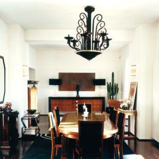art deco inspired room