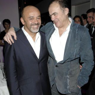 christian louboutin and christian lacroix