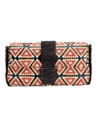 Whats In Whats Out  May Fendi Ethnic Clutch