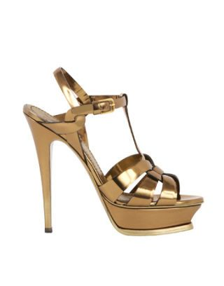 Whats In Whats Out May Gold Sandal