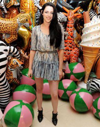 Kristen Stewart at Mulberry