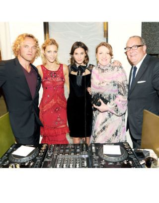 Glenda Bailey and Saks Fifth Avenue Celebrates Peter Dundas & the Saks Pucci Boutique