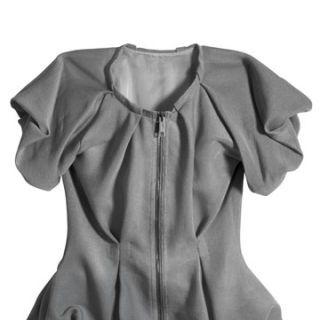 burberry prorsum grey zip up cardigan, price $895