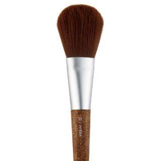 makeup brush made of flax