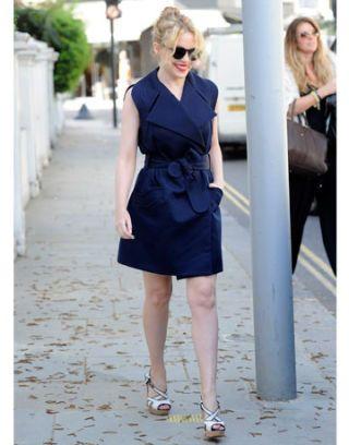 Best Dressed Celebrities Week of April 4th, 2011 - Red