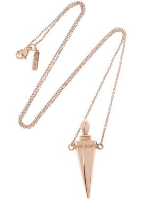 eddie borgo spiked urn necklace