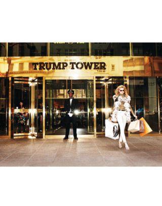 model at trump tower
