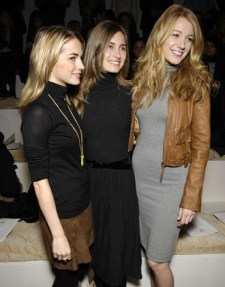 amanda hearst, lauren bush, blake lively