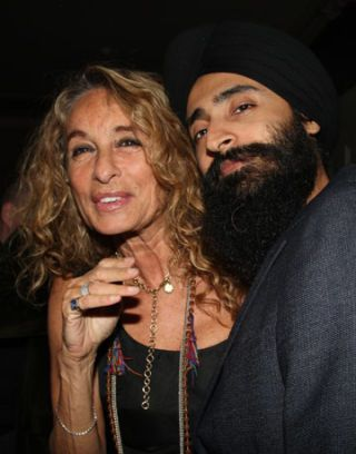 ann dexter-jones and waris ahluwalia