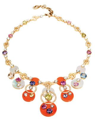 <b>Bulgari</b> necklace, price upon request. 800-BULGARI.