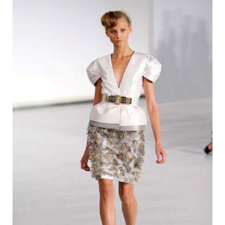 model in gianfranco ferre