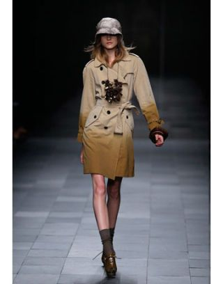 model in burberry prorsum