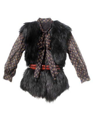 vest, shirt, belt