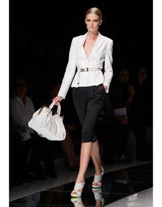 model in versace