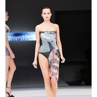 model in hussein chalayan