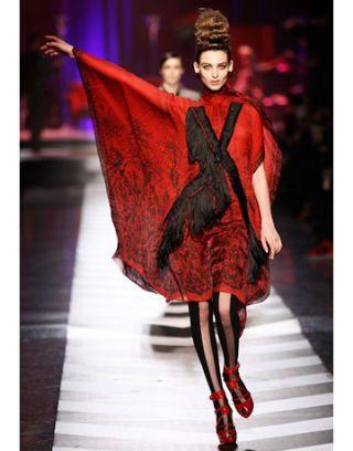 jean paul gaultier runway show