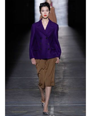 dries van noten runway show