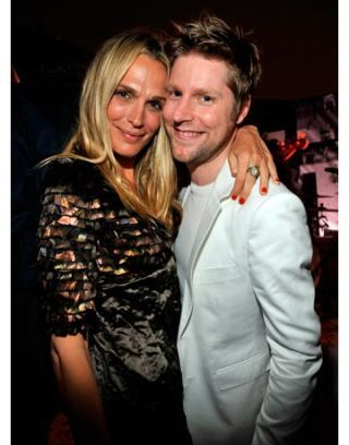 molly sims and christopher bailey
