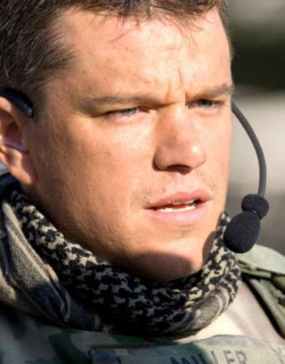 matt damon in green zone