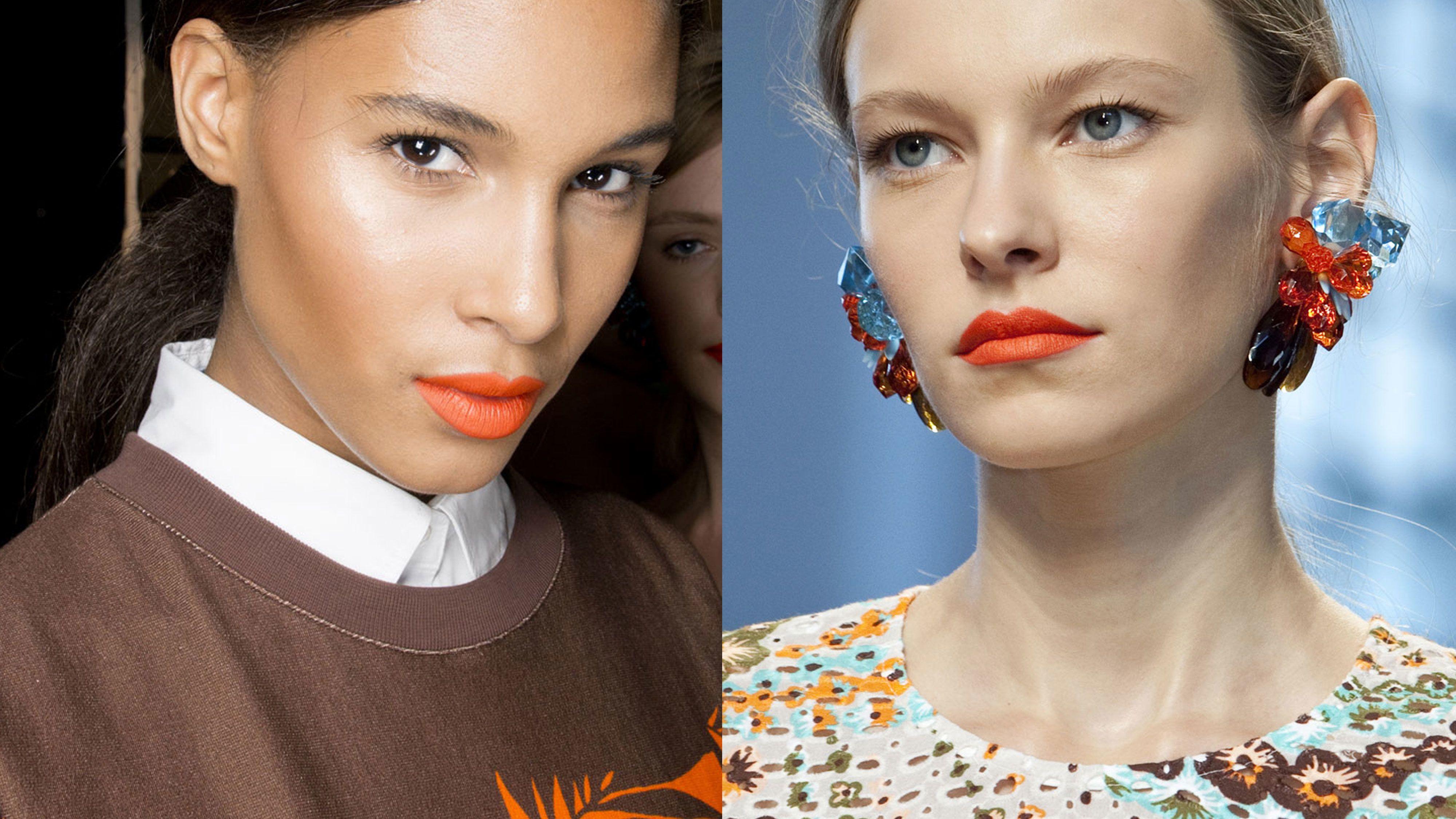 The Best Orange Lipsticks For Your Skin Tone