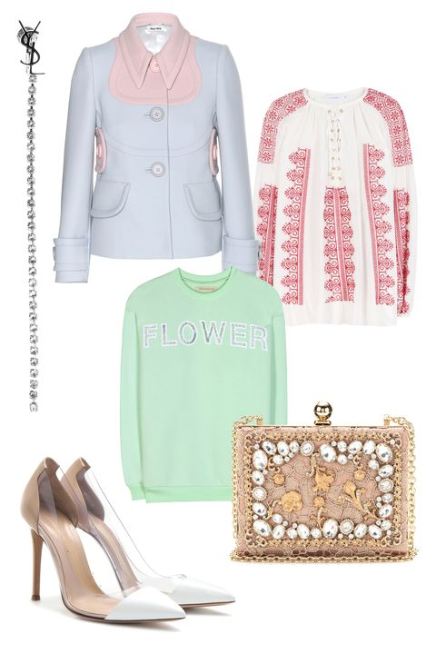 Product, Sleeve, Textile, White, High heels, Pattern, Style, Collar, Teal, Basic pump,