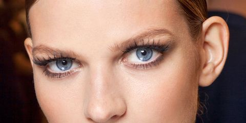 Head, Nose, Lip, Cheek, Mouth, Brown, Hairstyle, Skin, Eyelash, Chin,