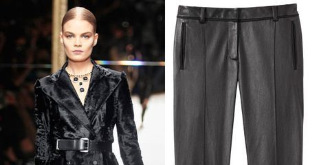 e46cdb8728 Leather Pants Trend - How to Wear Fashionable Leather Pants