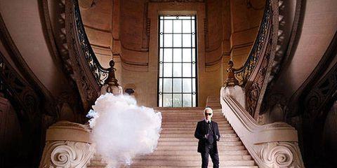 Photograph, Interior design, Stairs, Molding, Religious institute, Hall, Symmetry, Wedding dress, Ceremony, Bride,