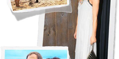 Shoulder, Photograph, Leisure, Summer, Aqua, Dress, Teal, One-piece garment, Turquoise, Vacation,