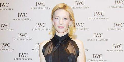 Cate Blanchett in Givenchy at IWC Top Gun Gala