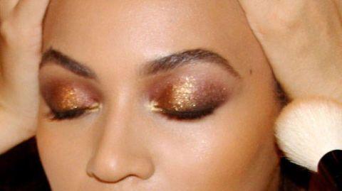 Lip, Cheek, Brown, Skin, Yellow, Forehead, Eyelash, Eyebrow, Eye shadow, Amber,