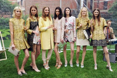 Dress, Coat, Beauty, Street fashion, Long hair, Spring, Day dress, One-piece garment, Makeover, Folding chair,