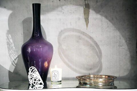 Dishware, Glass, Purple, Serveware, Bottle, Violet, Lavender, Still life photography, Ceramic, Plate,