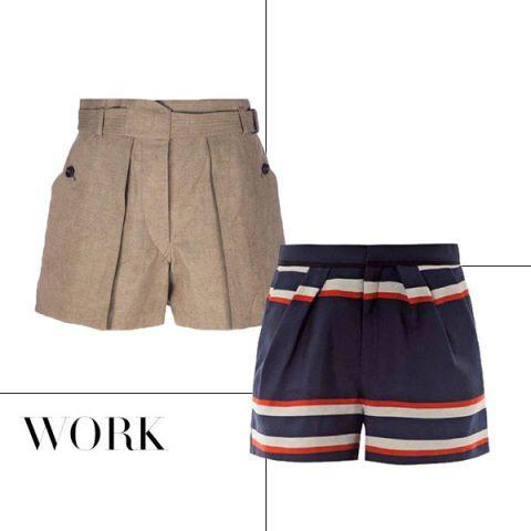 Brown, Khaki, Textile, White, Uniform, Style, Active shorts, Fashion, Pocket, Tan,