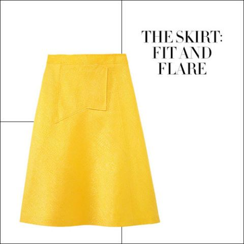 The Skirt: Fit and Flare