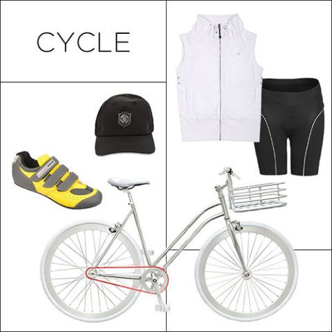 The Great Outdoors: Shop Chic Fitness Gear