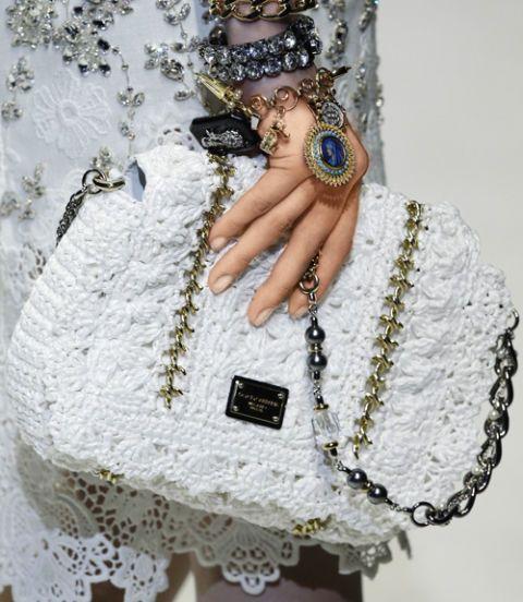 lace dolce and gabbana bag