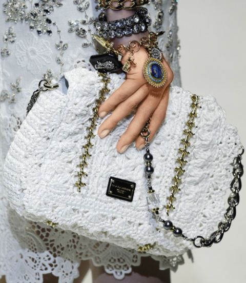 lace dolce and gabbana bag