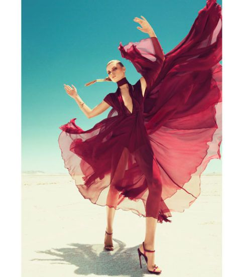fall 2011 color trends harpers bazaar september 2011