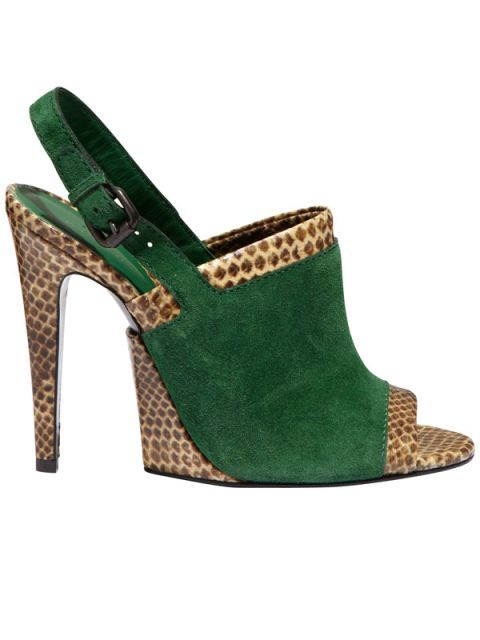 Footwear, Brown, Green, High heels, Teal, Sandal, Tan, Fashion, Foot, Costume accessory,