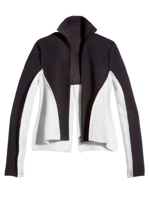 Sleeve, Collar, Textile, Outerwear, White, Style, Pattern, Fashion, Neck, Black,