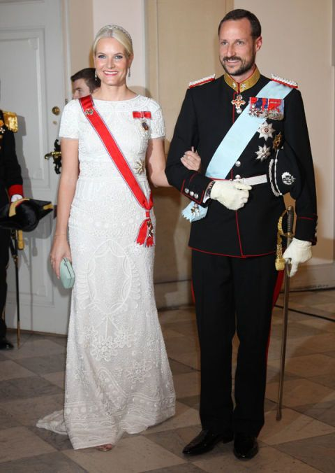 Crown Princess Mette-Marit of Norway in Pucci