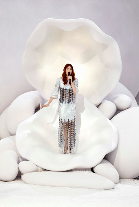 1. Florence Welch on Tour