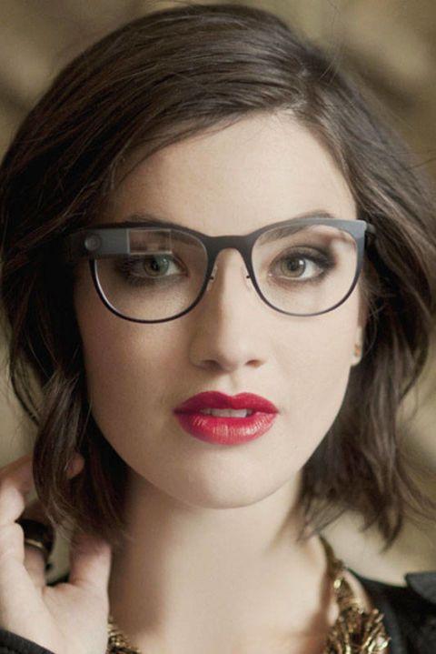 Eyewear, Glasses, Nose, Vision care, Lip, Cheek, Hairstyle, Chin, Forehead, Eyelash,