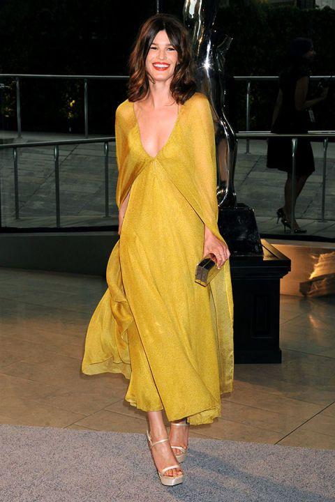 Yellow Dress Celebrity