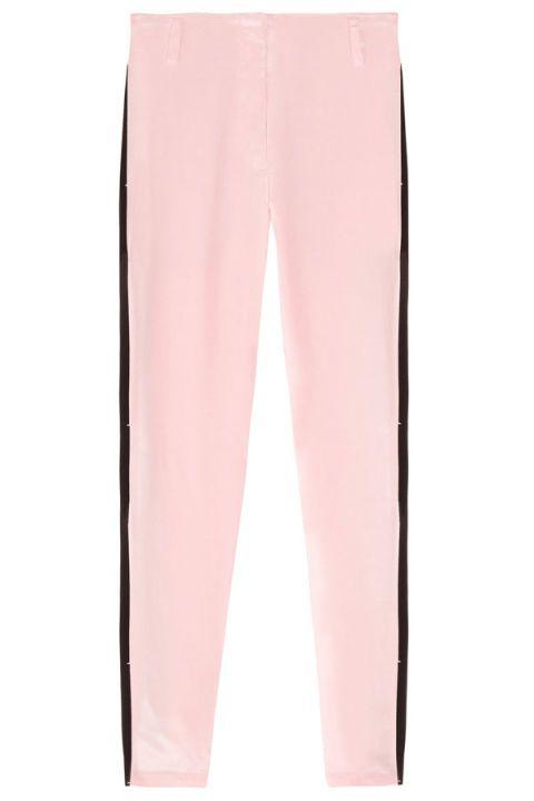 Active pants, Orange, Pocket, Peach, Silk,