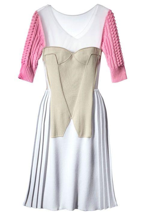 Sleeve, Textile, White, Pattern, Dress, One-piece garment, Fashion, Magenta, Day dress, Lavender,