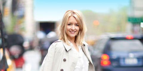 Clothing, Collar, Sleeve, Textile, Outerwear, Bag, Street fashion, Style, Blazer, Street,